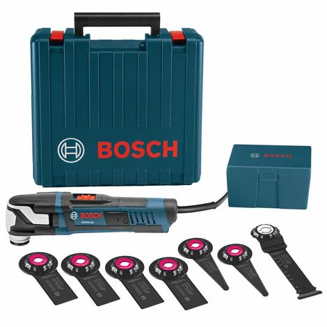 Bosch 8 pc. StarlockMax® Oscillating Multi-Tool Kit