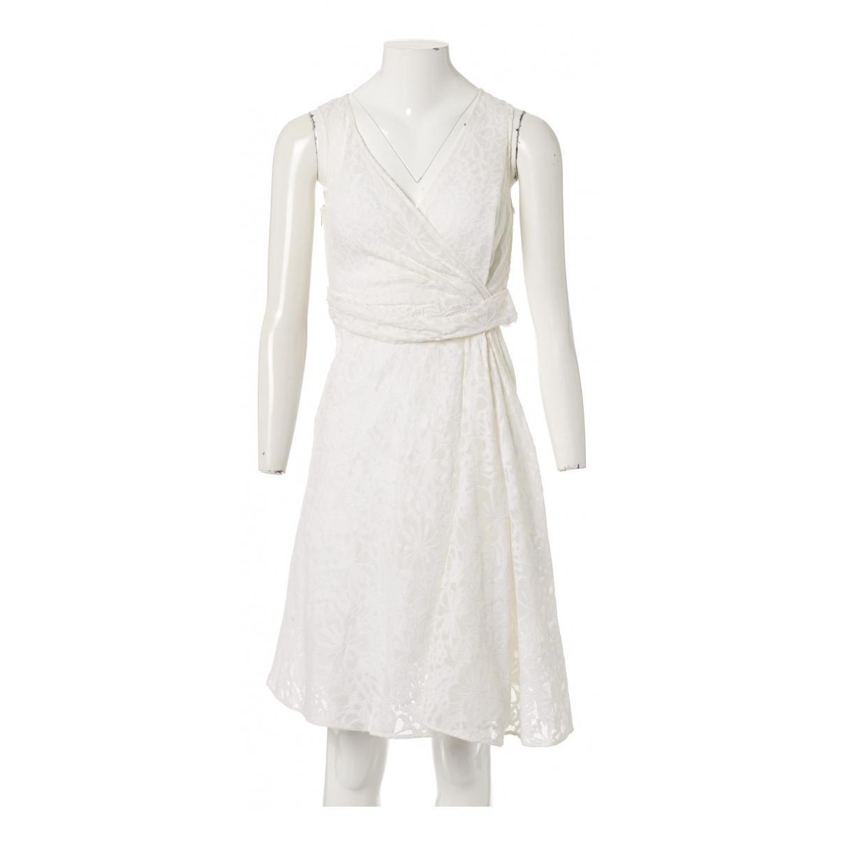 Valentino Garavani - Robe   pour femme en coton - blanc