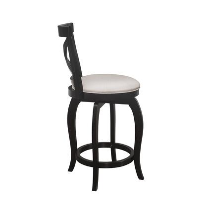 Ellendale Collection 5218-826 Swivel Counter Height Stool in Black