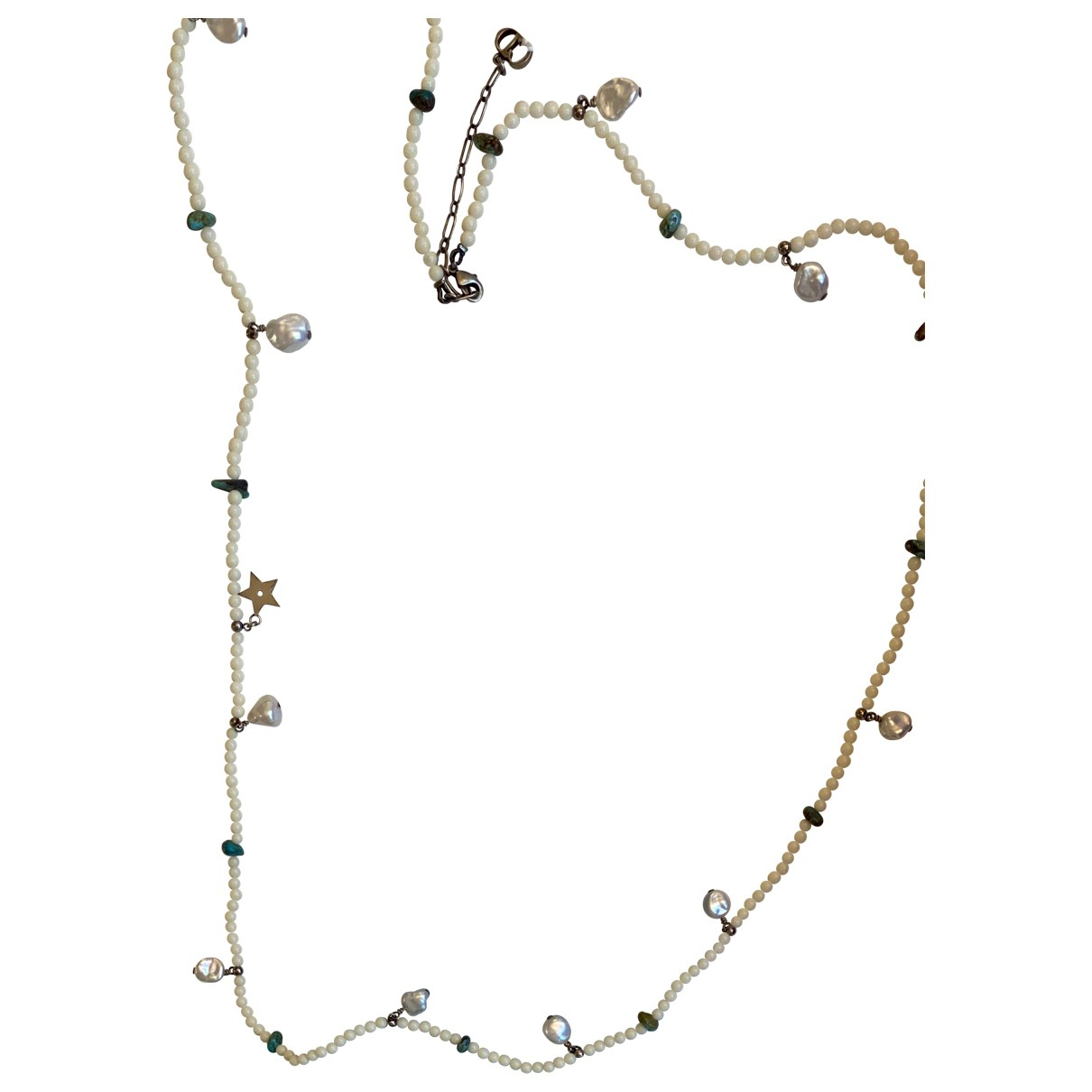 Dior N White Long necklace for Women N