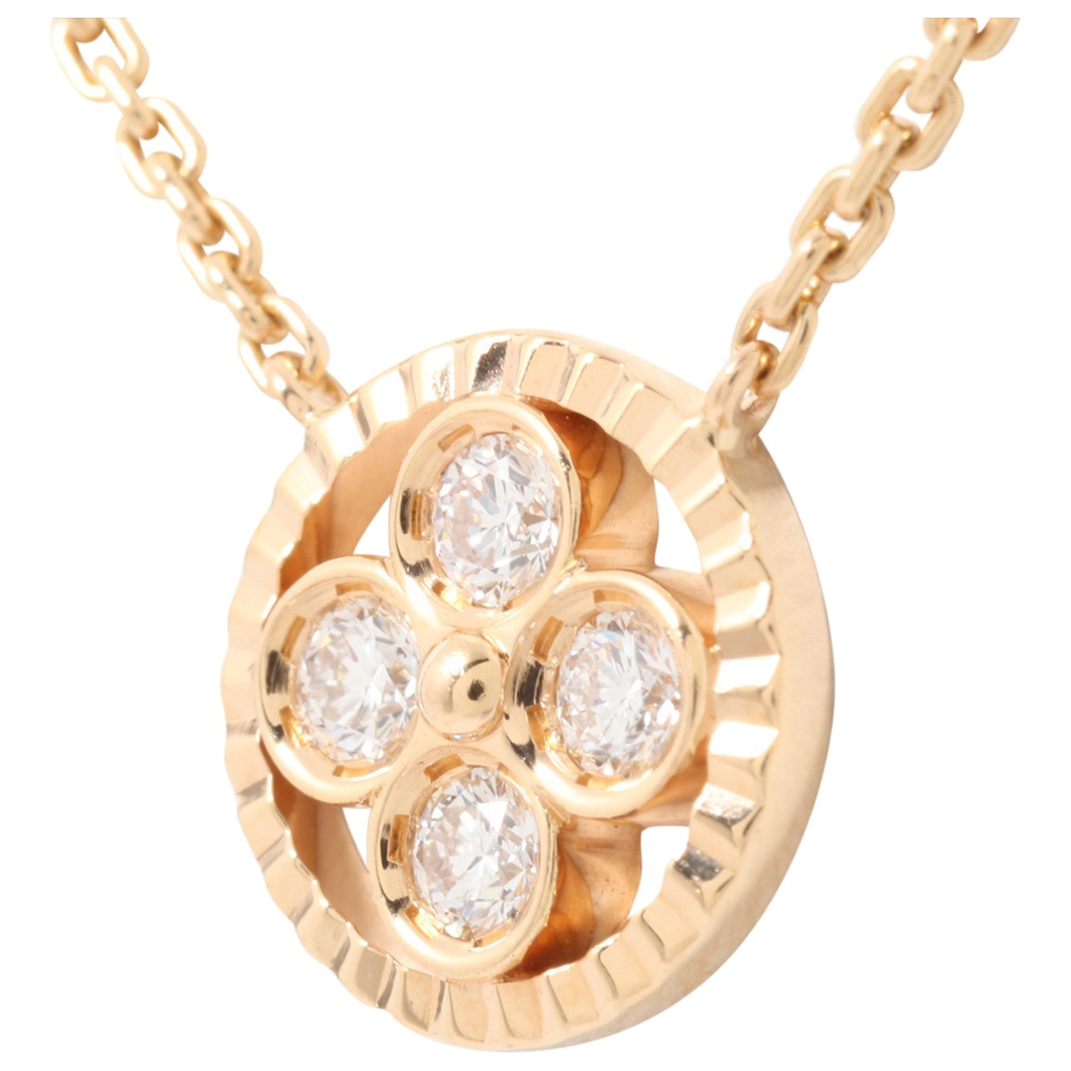 Louis Vuitton \N Kette in  Gold Rosegold