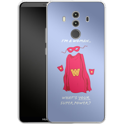 Huawei Mate 10 Pro Silikon Handyhuelle - Superpower von caseable Designs