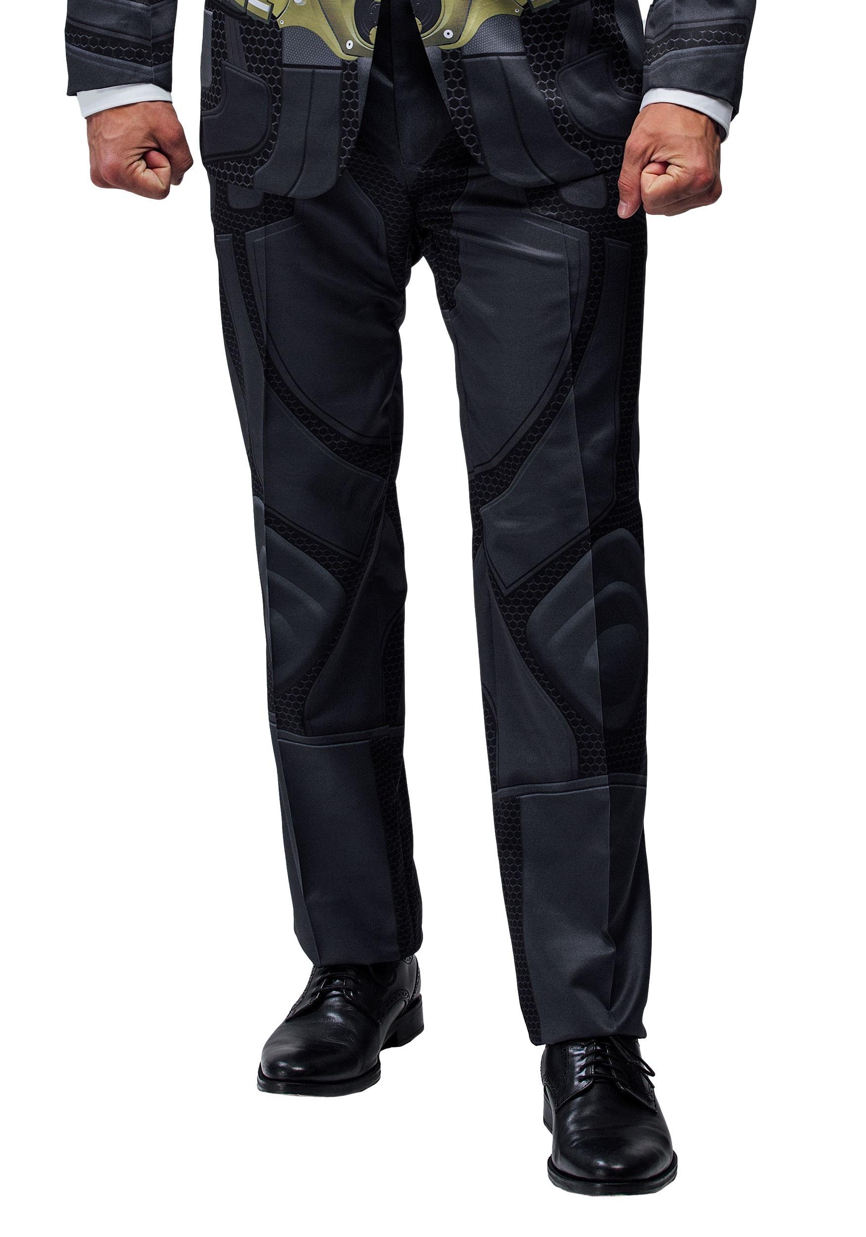 Alter Ego Dark Knight Slim Fit Suit Pants for Men