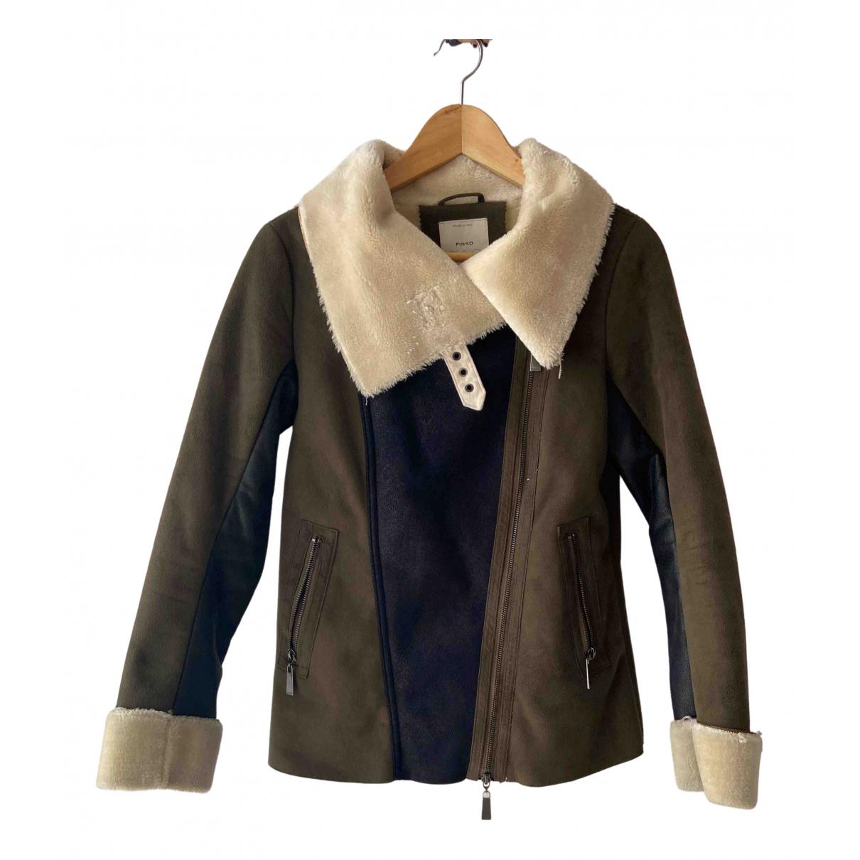 Pinko - Manteau   pour femme - vert