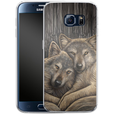 Samsung Galaxy S6 Silikon Handyhuelle - Loyal Companions von Lisa Parker