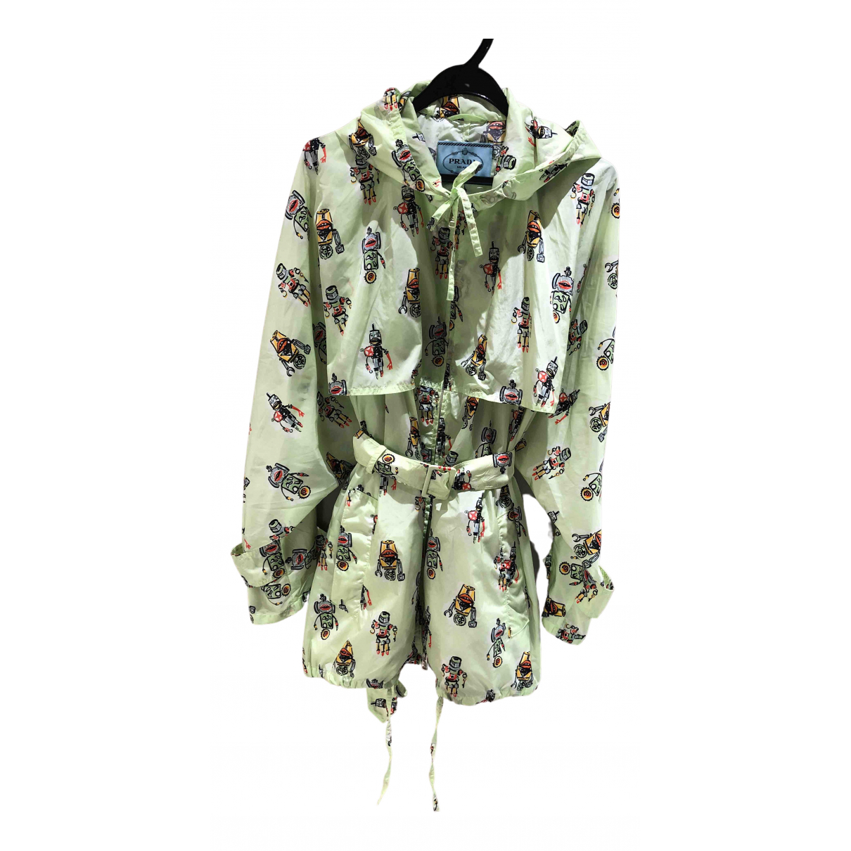 Prada N Green coat for Women 46 IT