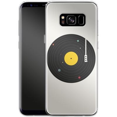 Samsung Galaxy S8 Silikon Handyhuelle - Music Everywhere von Florent Bodart
