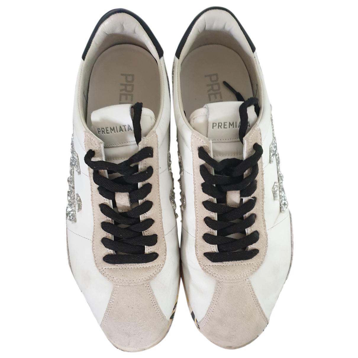 Premiata \N Sneakers in  Weiss Leder