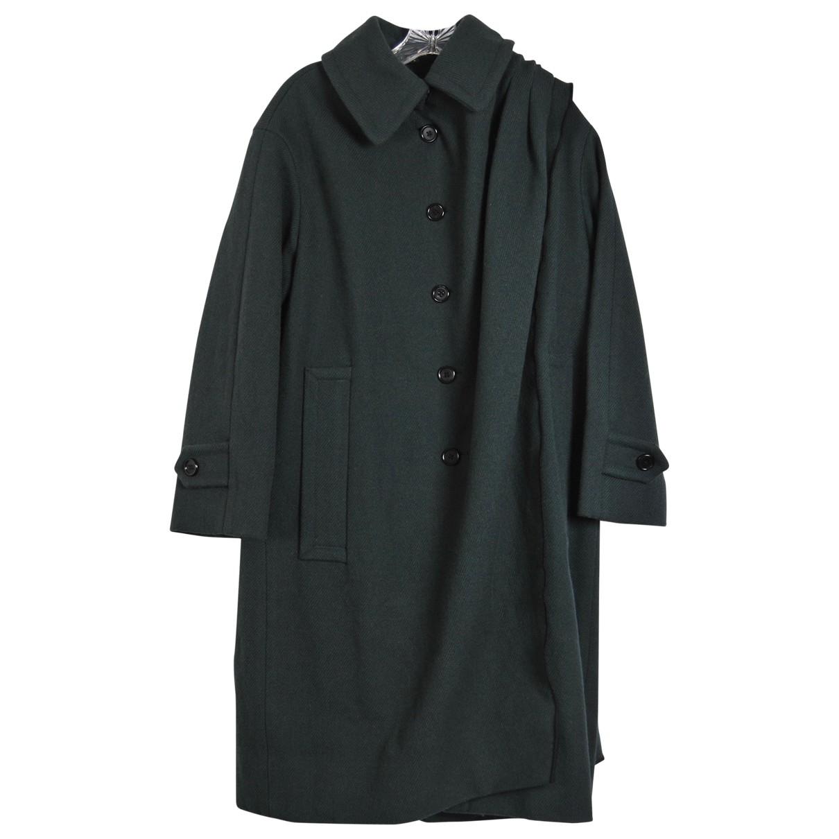 Marc Jacobs \N Maentel in  Gruen Wolle