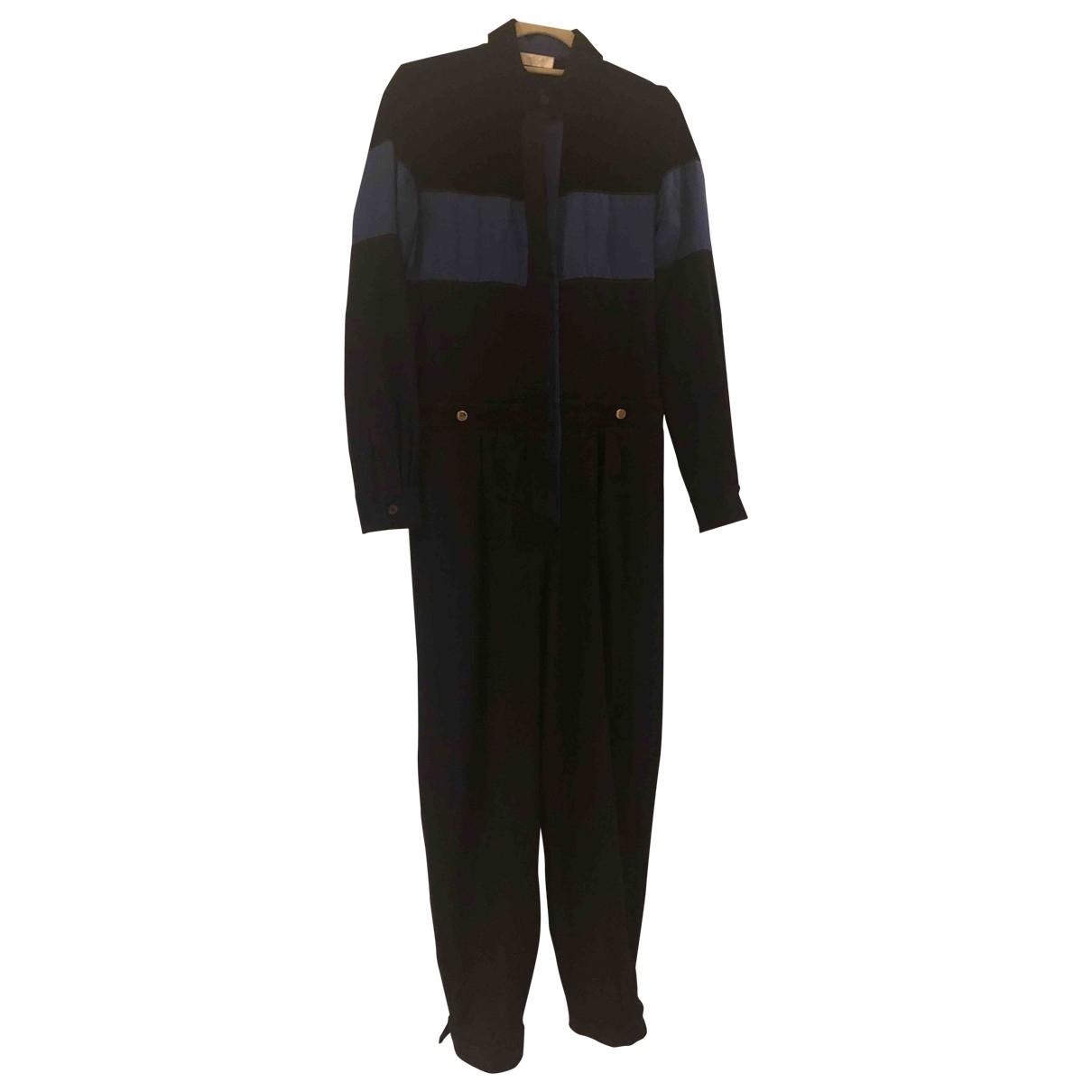 Chloé \N Black Wool jumpsuit for Women 38 FR