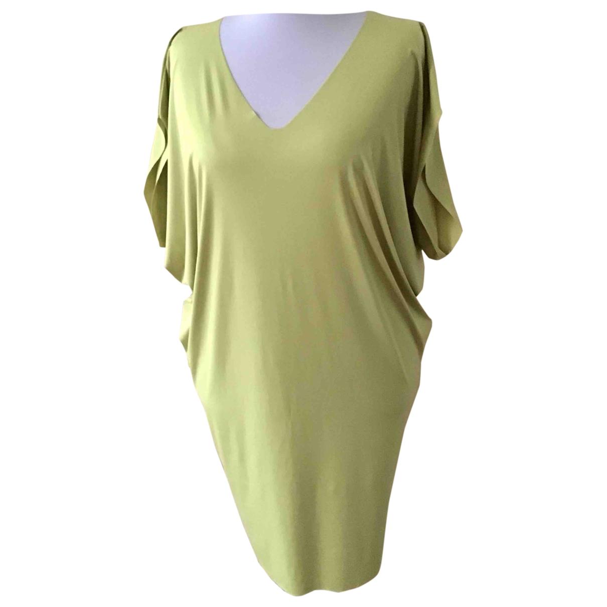 Wolford \N Kleid in  Gruen Baumwolle - Elasthan