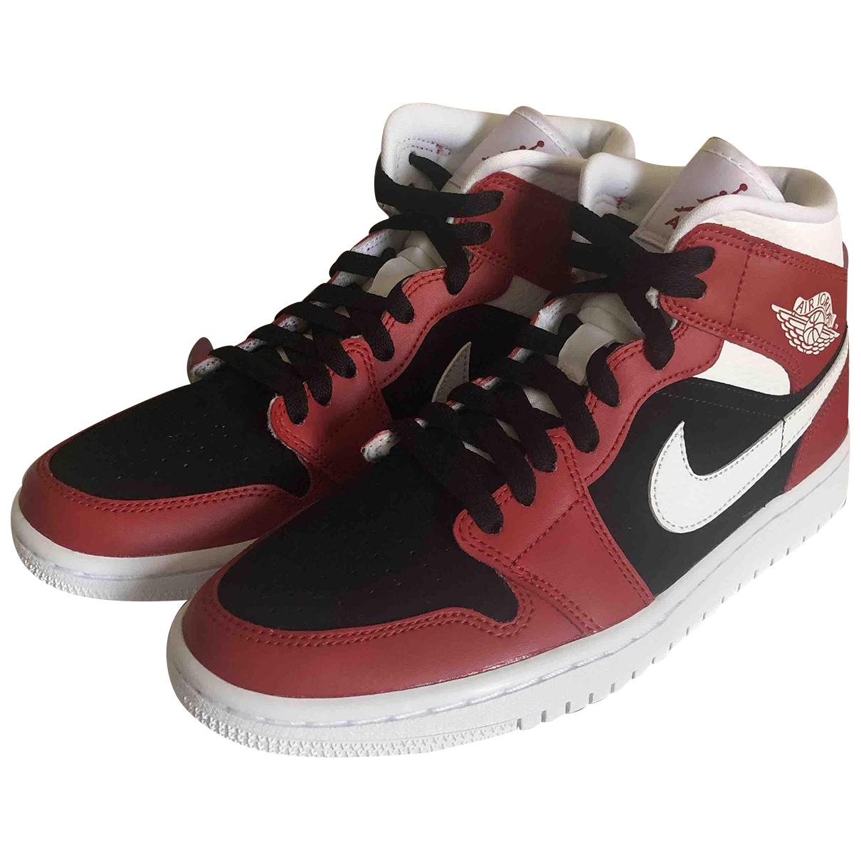 Nike - Baskets   pour femme en caoutchouc - rouge