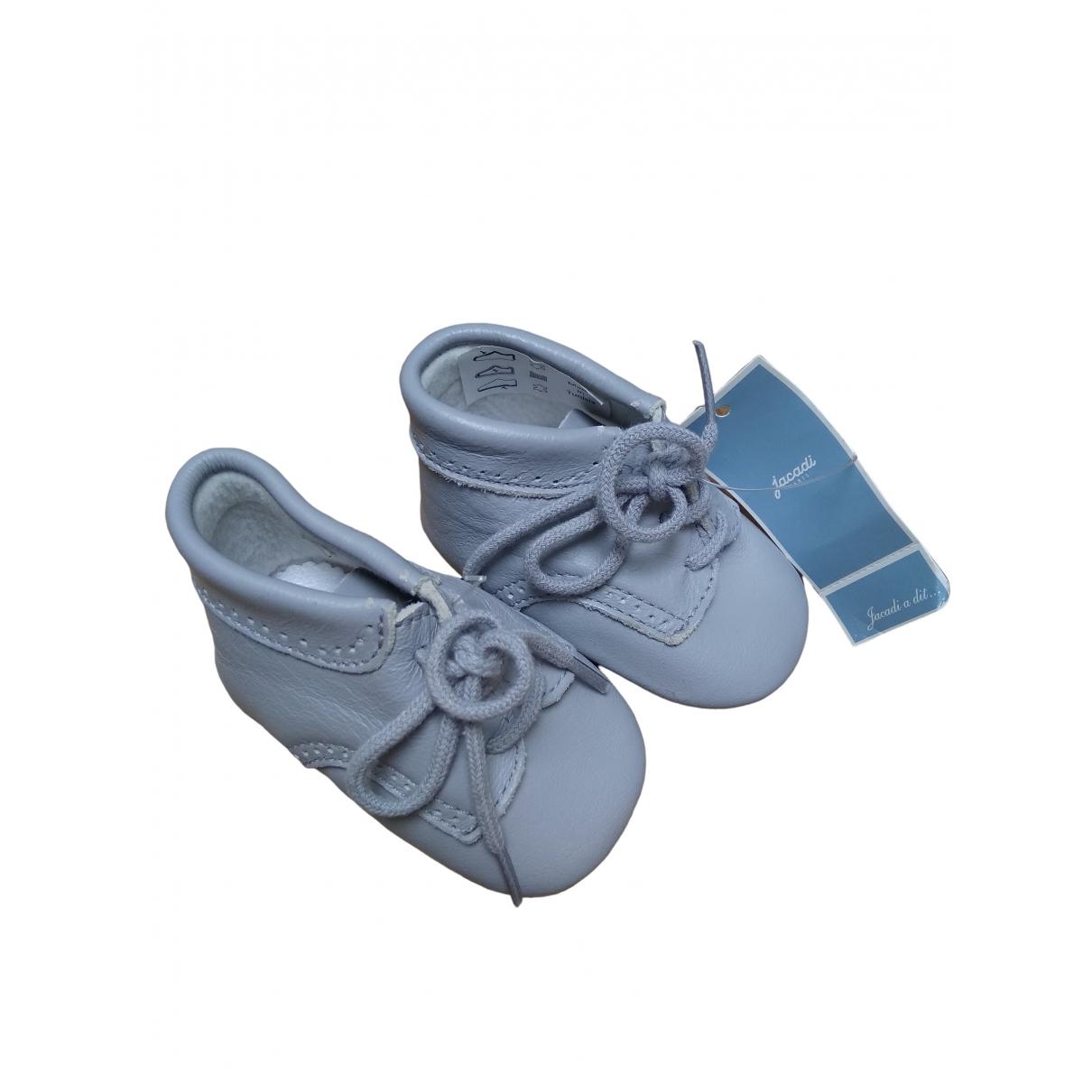 Jacadi - Premiers pas   pour enfant en cuir - gris