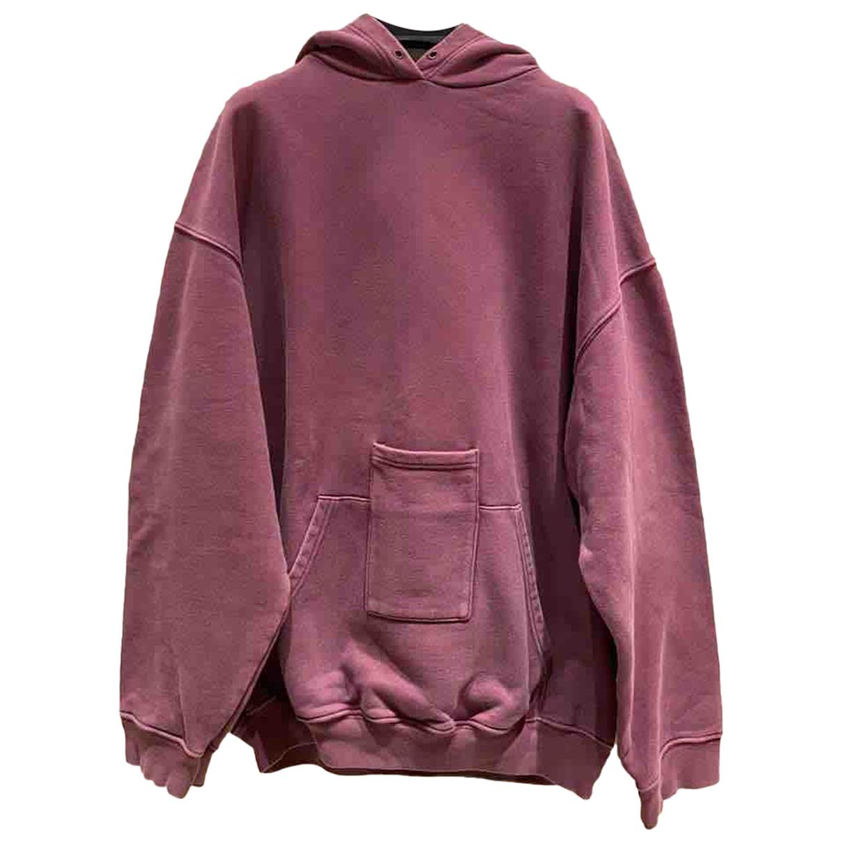 Balenciaga - Top   pour femme en coton - violet