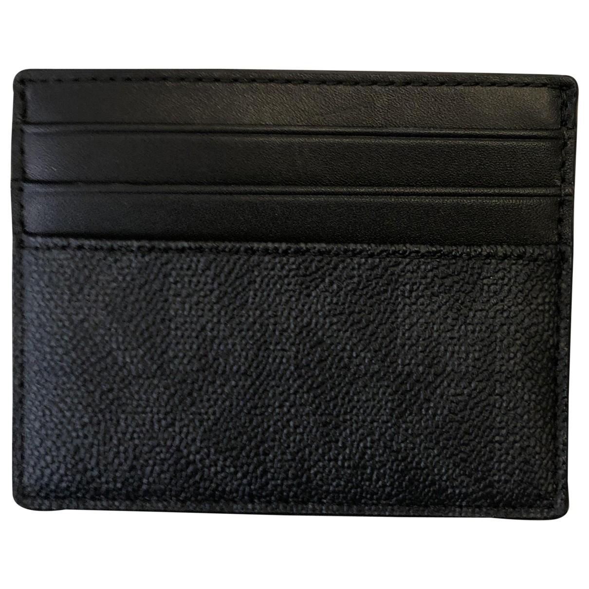 Michael Kors \N Black Small bag, wallet & cases for Men \N