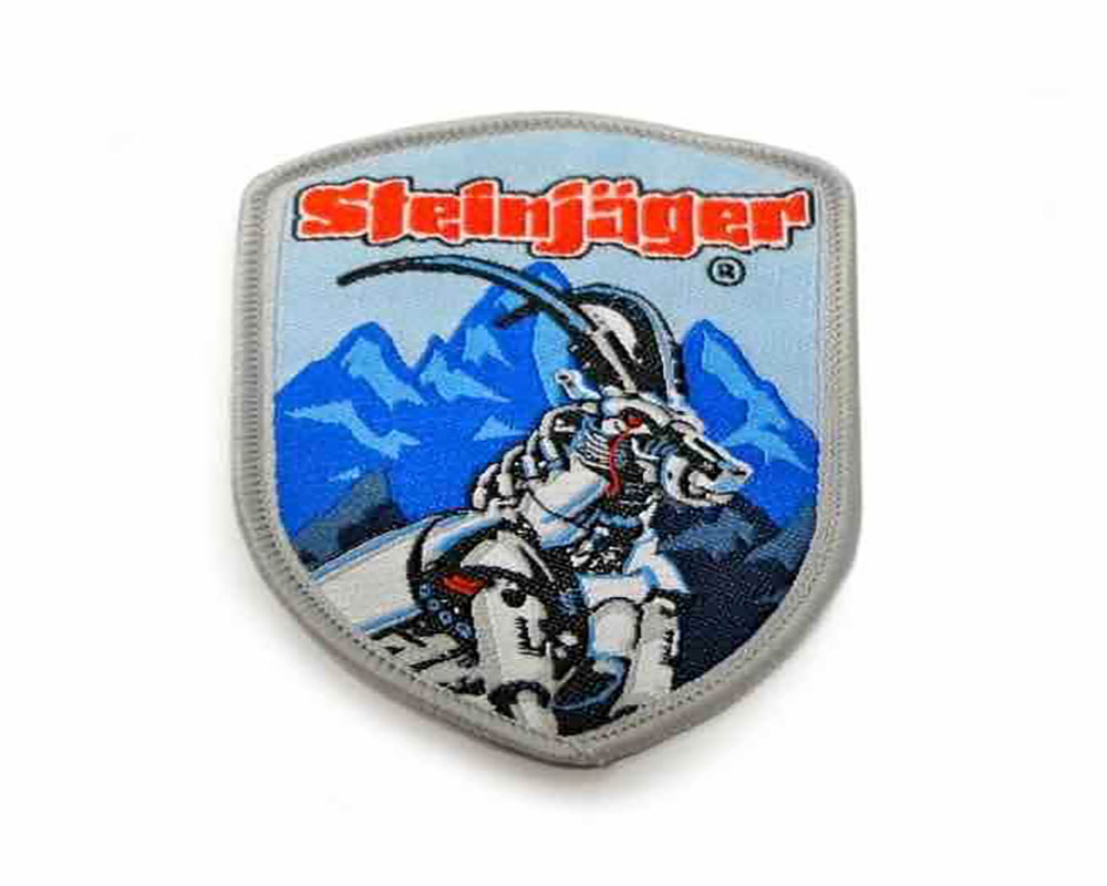 Steinjager J0023976 Shield Patches, Sew On 2.3 x 3.0 inches