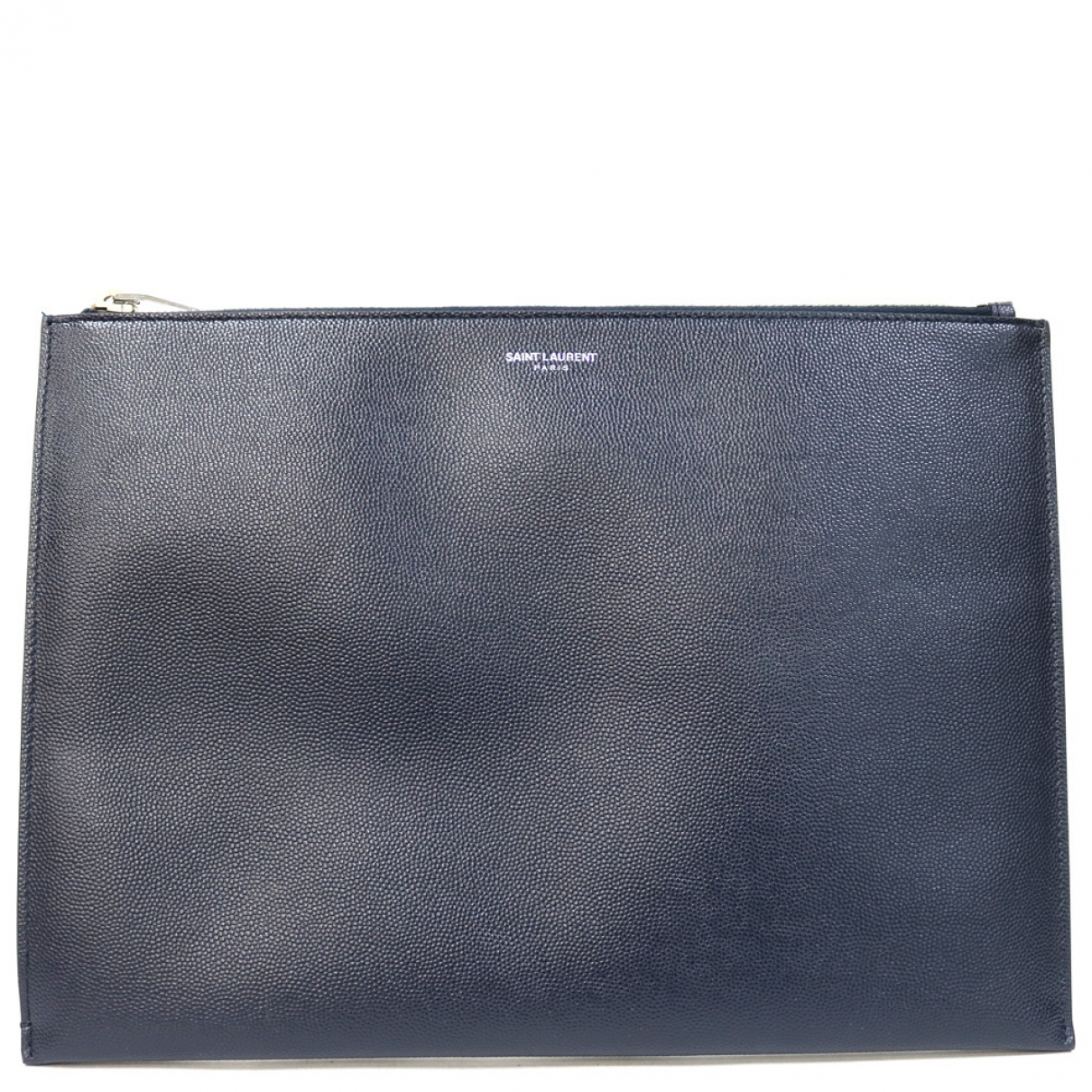 Saint Laurent \N Navy Leather Clutch bag for Women \N