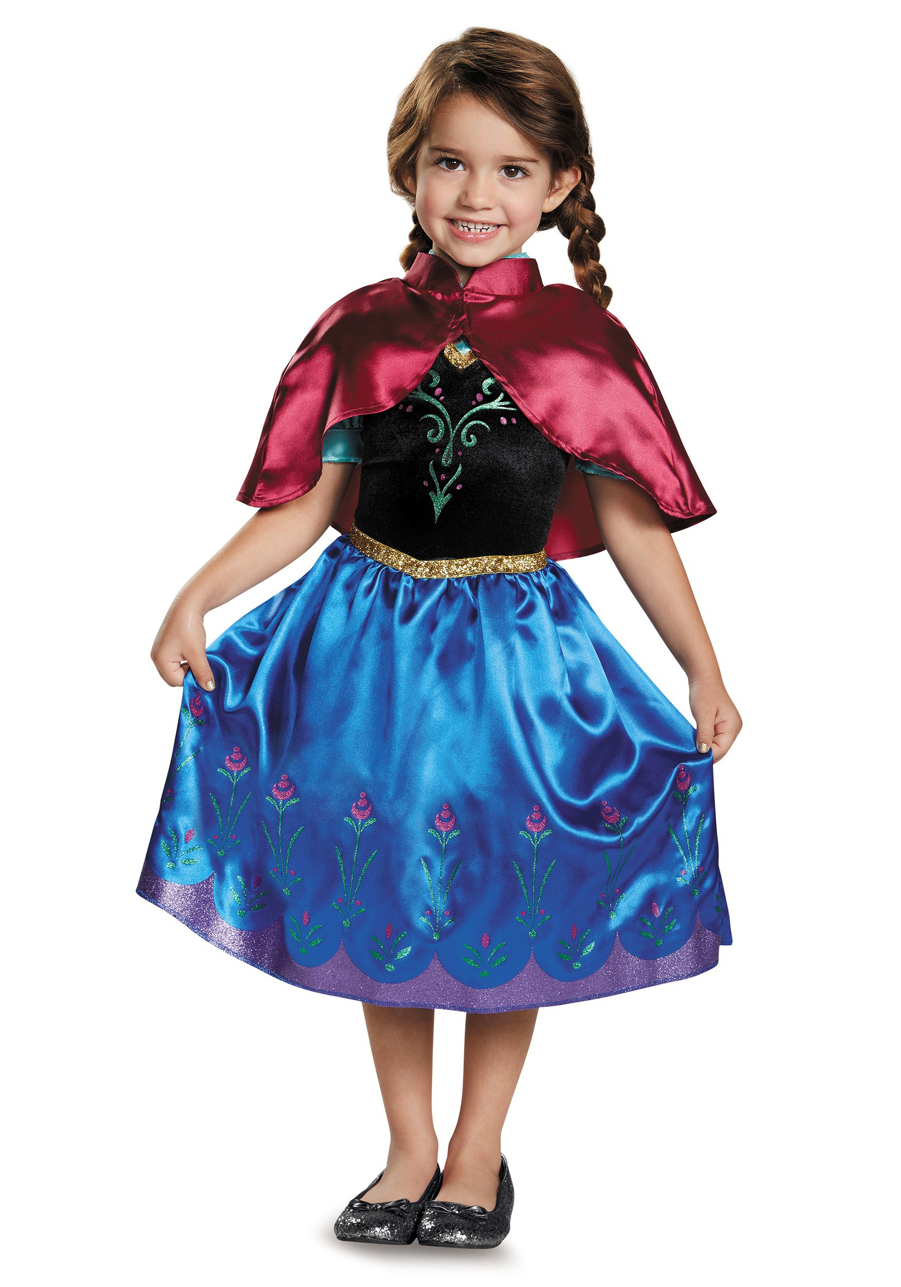 Frozen Traveling Anna Classic Costume for toddler