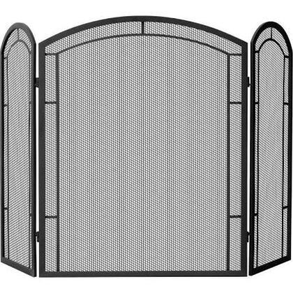 S-1122 3 Panel Black Wrought Iron