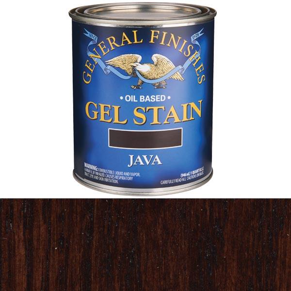 Java Gel Stain Solvent Based Quart