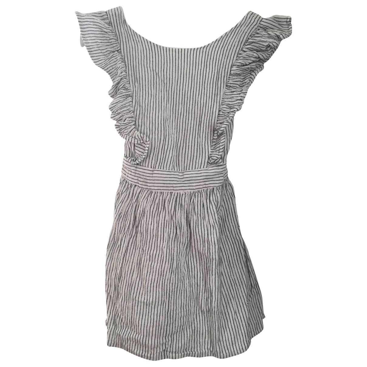 Cyrillus \N Kleid in  Weiss Baumwolle