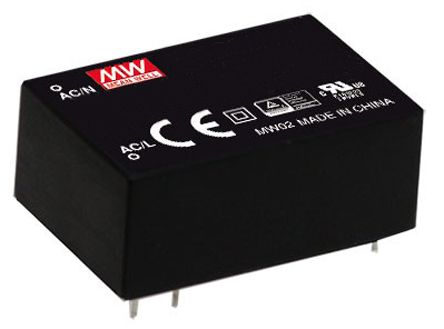 Mean Well , 2W Encapsulated Switch Mode Power Supply, 12V dc, Encapsulated