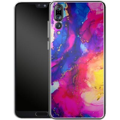 Huawei P20 Pro Silikon Handyhuelle - Cosmic Swirl I von Stella Lightheart