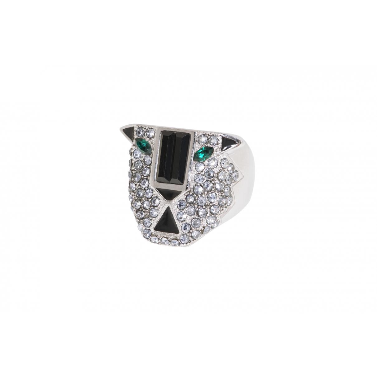 Ca&lou \N Ring in  Silber Versilbert