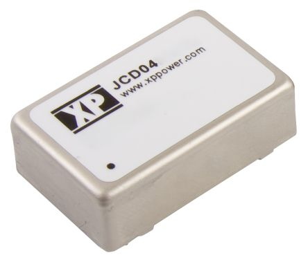 XP Power JCD 4W Isolated DC-DC Converter Through Hole, Voltage in 9 → 18 V dc, Voltage out ±9V dc