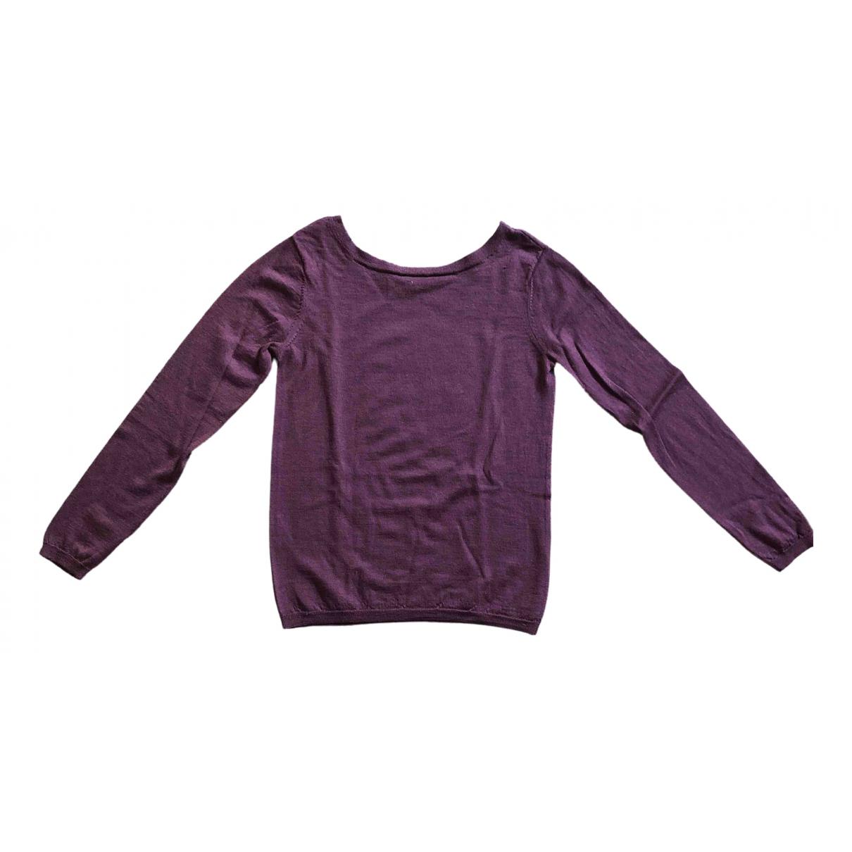 Comptoir Des Cotonniers - Pull   pour femme en laine - violet