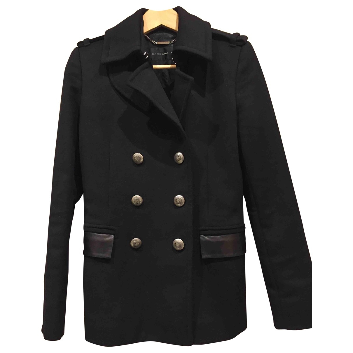 Barbara Bui \N Black Wool coat for Women 36 FR
