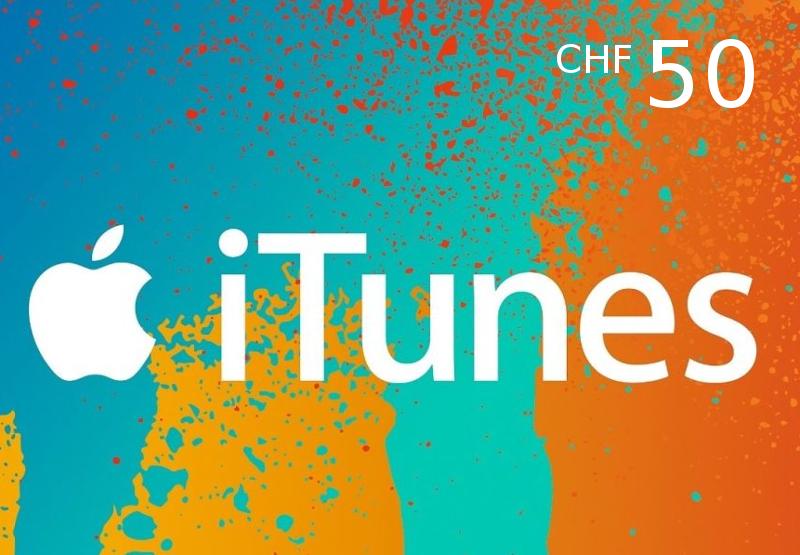 iTunes 50 CHF CH Card