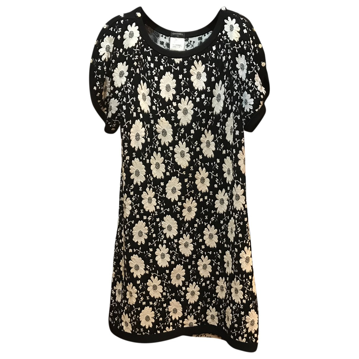 Chanel \N Black Cotton dress for Women 42 FR