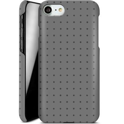 Apple iPhone 8 Smartphone Huelle - Dot Grid Grey von caseable Designs