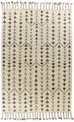 350579 86 x 116 Wool Ivory Area