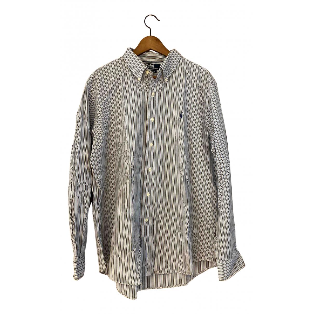 Polo Ralph Lauren - Chemises   pour homme en coton - bleu