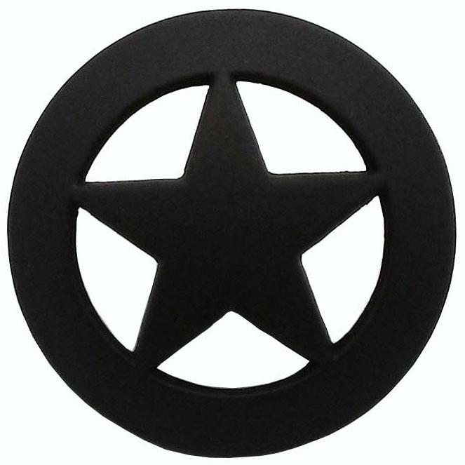 Sheriff Star Knob, Oil Rubbed Bronze