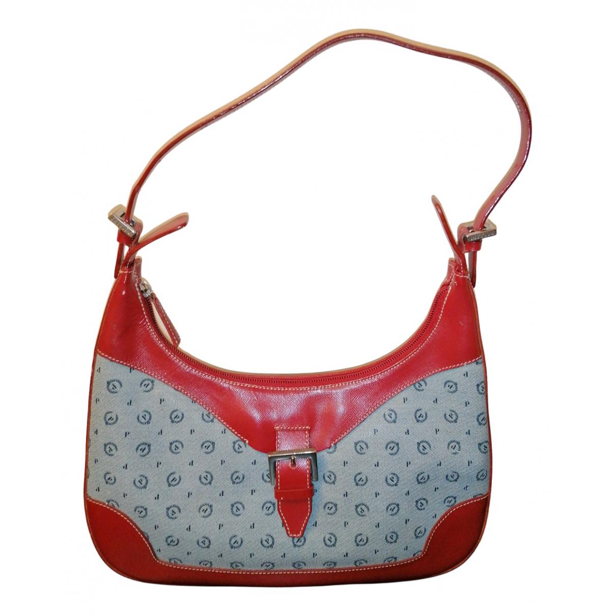 Pollini \N Handtasche in  Rot Leder