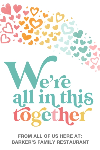 COVID-19 24x36 Poster , Home Décor -In This Together