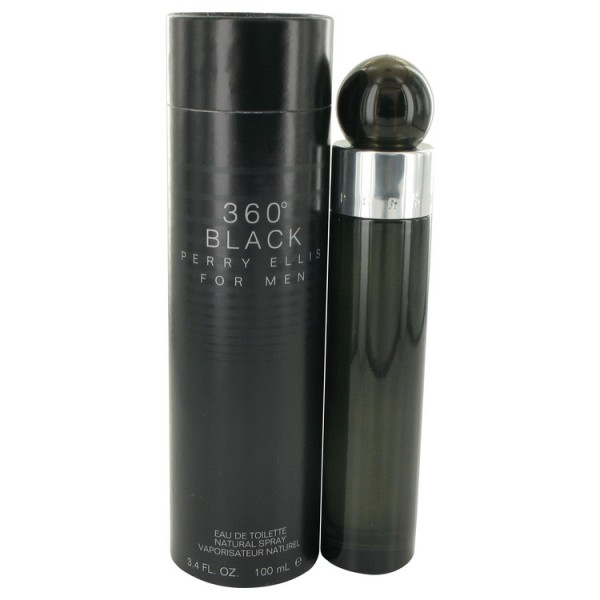 Perry Ellis 360 Black - Perry Ellis Eau de toilette en espray 100 ML