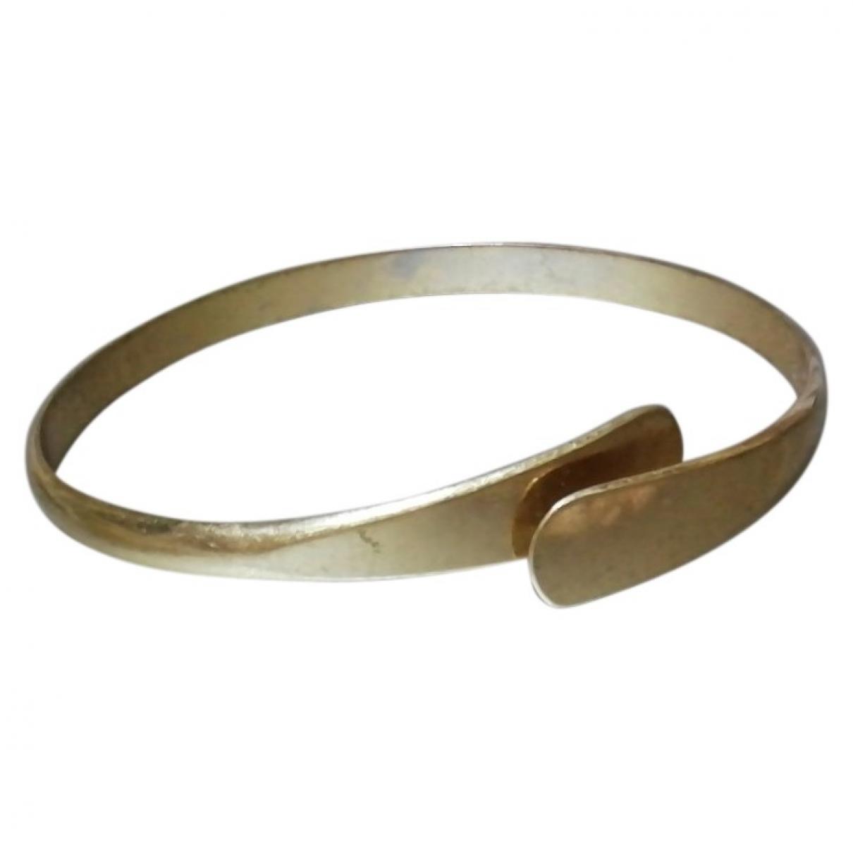 - Bracelet Jonc pour femme en metal - dore
