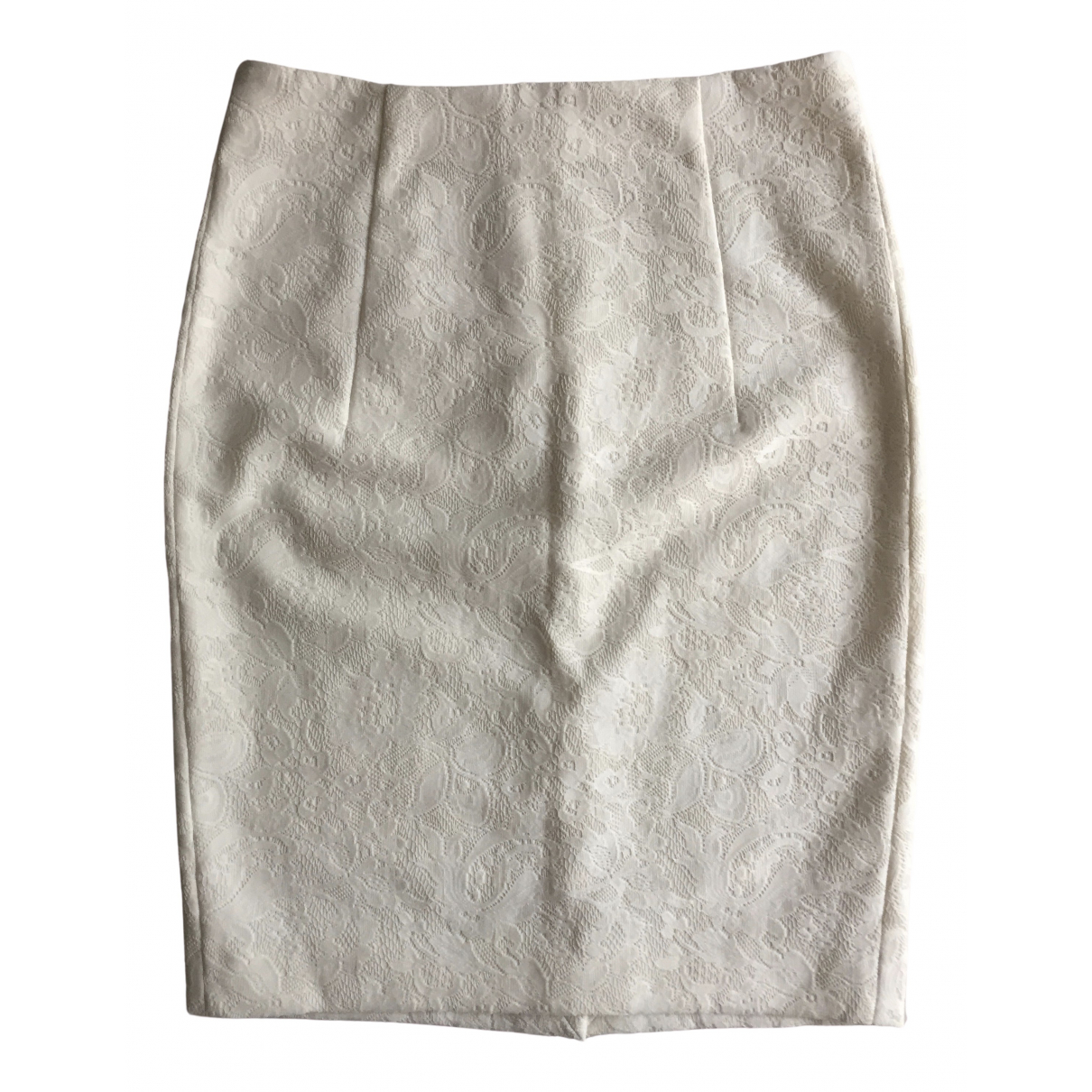 Zara - Jupe   pour femme - blanc