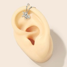 Rhinestone Decor Ear Cuff