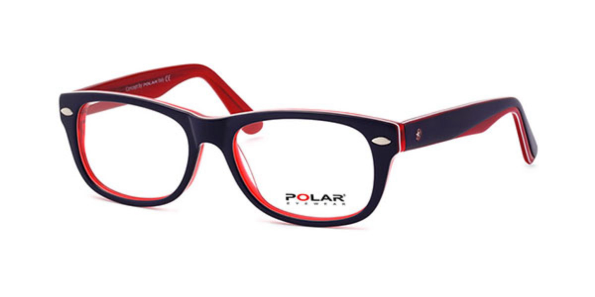 Polar PL YOUNG 02 10 Men's Glasses Blue Size 48 - Free Lenses - HSA/FSA Insurance - Blue Light Block Available