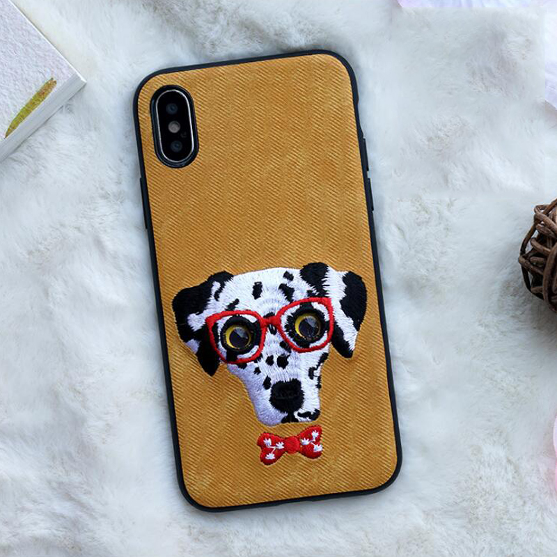 Cute Animal Design Protective Phone Case for iPhone