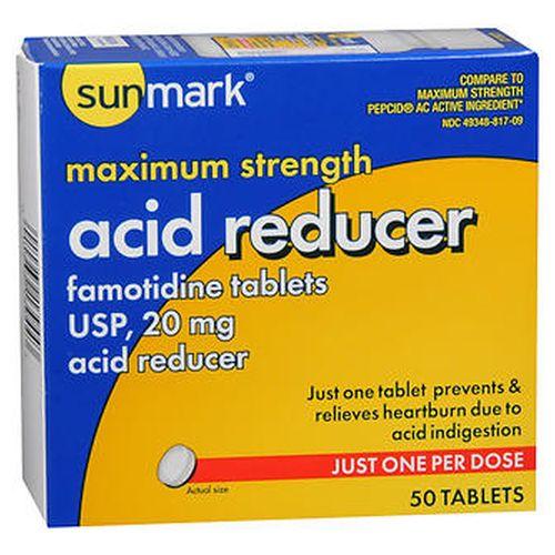 Sunmark Acid Reducer 20 mg 50 tabs by Sunmark