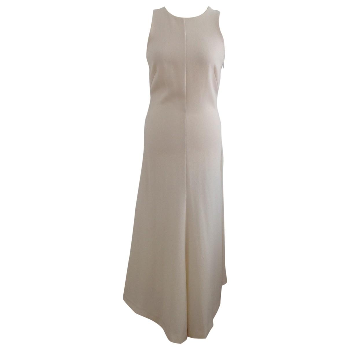 By Malene Birger \N Kleid in  Weiss Polyester