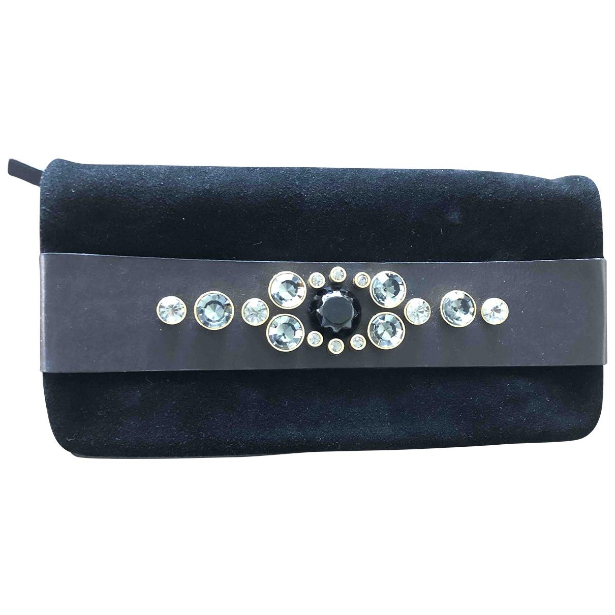 By Malene Birger \N Black Suede Clutch bag for Women \N