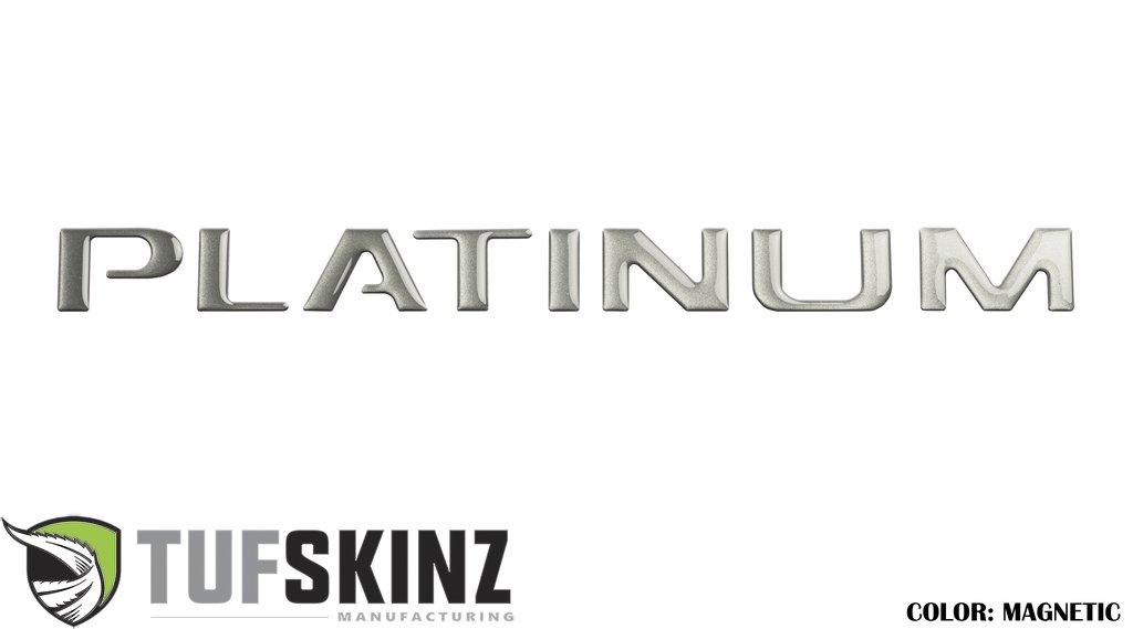 Tufskinz FDD001-MAG-G Tailgate Platinum Inserts 8 Piece Kit Magnetic Ford F-150 15-17