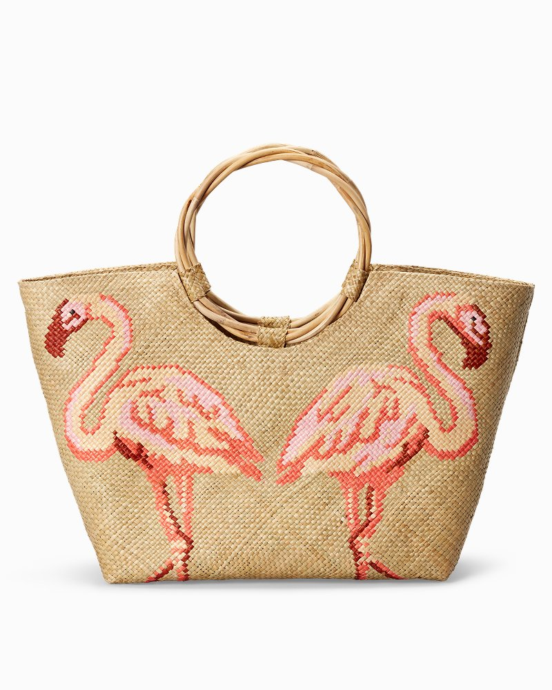 Flamingo Friends Tote Bag